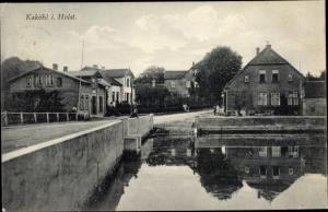 Ak Kaköhl Blekendorf in Schleswig Holstein, Partie am Wasser