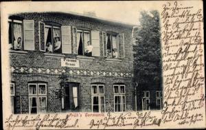 Ak Cismar Grömitz in Holstein, Prüh's Pensionat Germania, Vorderansicht