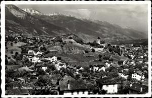 Ak Siders Sierre Kanton Wallis, Villa et Muraz