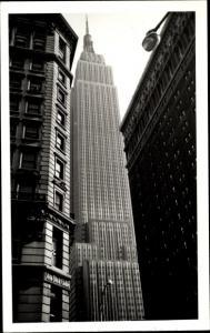 Foto Ak New York City USA, Empire State Building