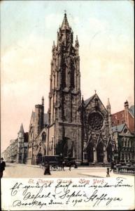 Ak New York City USA, St Thomas Church