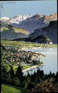 Ak Brienz Kanton Bern, Panorama