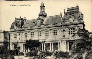 Ak Annaba Bône Algerien, L'Hôtel de Ville