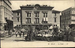 Ak Oran Algerien, La Poste