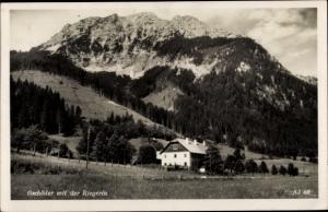 Ak Gschöder Weichselboden Steiermark, Panorama mit Riegerin