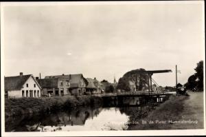 Ak Hogersmilde Drenthe, Bij de Pieter Hummelenbrug