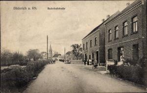 Ak Büderich Wesel am Niederrhein, Bahnhofstraße