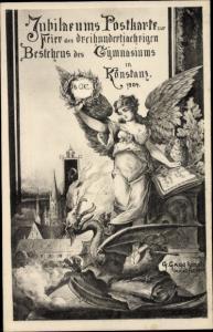 Künstler Ak Konstanz am Bodensee, 300 Jahrfeier des Gymnasiums 1904