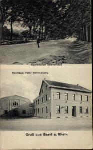 Ak Baerl Duisburg am Rhein, Gasthaus Peter Himmelberg, Buchenallee Baerler Wald