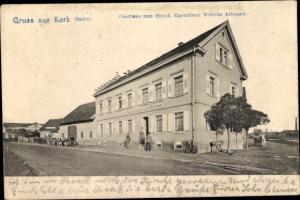 Ak Kork Kehl am Rhein, Gasthaus zum Hirsch
