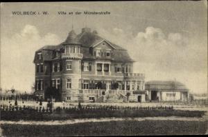 Ak Wolbeck Münster in Westfalen, Villa an der Münsterstraße