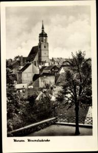 Ak Wurzen in Sachsen, Wenceslaikirche