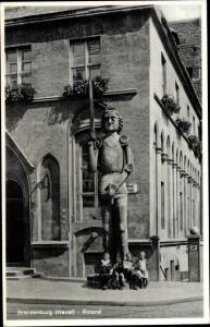 Ak Brandenburg an der Havel, Roland