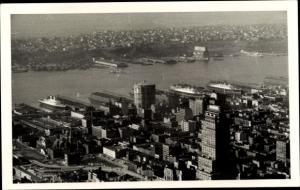 Foto Ak New York City USA, Panorama vom Ort