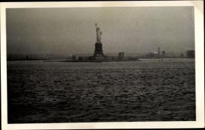 Foto Ak New York City USA, Freiheitsstatue