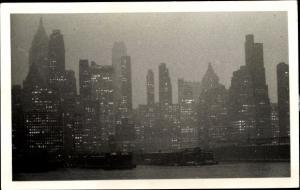 Foto Ak New York City USA, Ortspartie