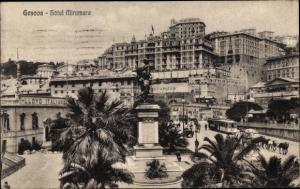 Ak Genova Genua Liguria, Hotel Miramare