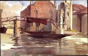 Künstler Ak Venezia Venedig Veneto, Chiesa dell´Abbazia