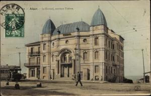Ak Algier Alger Algerien, Le Kursaal, nouveau Théatre, Photochromie