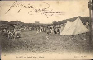 Ak Bejaia Bougie Algerien, Souk el Teine, le Marché