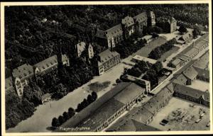 Ak Berlin Kreuzberg, Technische Polizeischule, Friesenstraße 16, Fliegeraufnahme