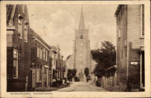 Ak Numansdorp Südholland Niederlande, Kerkstraat