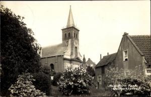 Ak Ooltgensplaat Südholland Niederlande, Ned. Herv. Kerk
