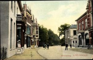 Ak Apeldoorn Gelderland, Deventerweg