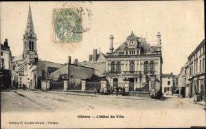 Ak Vihiers Maine et Loire, L´Hôtel de Ville