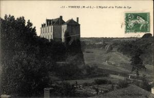 Ak Vihiers Maine et Loire, L´Hôpital et la Vallée du Lys
