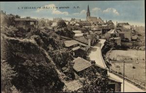 Ak Vihiers Maine et Loire, Vue Générale