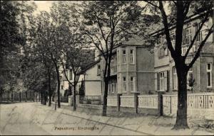 Ak Papenburg im Emsland, Kirchstraße, Stadtvillen