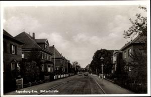 Ak Papenburg im Emsland, Richardstraße mit Stadtvillen