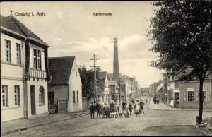 Ak Coswig in Anhalt, Karlstraße, Kinder