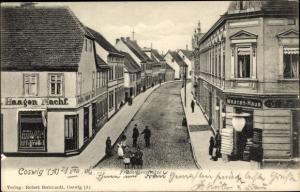 Ak Coswig in Anhalt, Friederikenstraße, Warenhaus