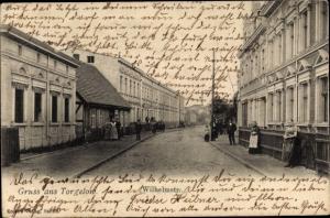 Ak Torgelow an der Uecker, Wilhelmstraße