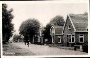 Ak Schoonoord Drenthe Niederlande, Straßenpartie