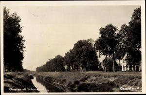 Ak Schoonoord Drenthe Niederlande, Oranjekanaal