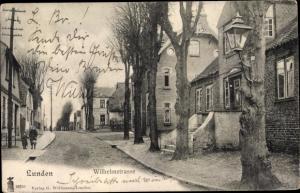 Ak Lunden in Dithmarschen, Wilhelmstraße