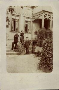 Foto Ak Aschersleben im Salzlandkreis, Wohnhaus Paul Koch, Heinrichstraße 7b
