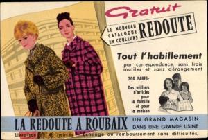 Künstler Ak Roubaix Nord, Reklame, La Reodute, Damenmode, Mäntel