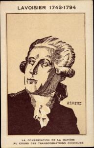 Künstler Ak Antoine Laurent de Lavoisier, Chemiker, Jurist