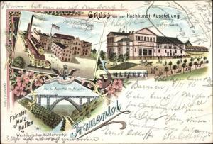 Litho Solingen, Schützenhaus, Kochkunst Ausstellung, Malzkaffeefabrik Duisburg, Frauenlob
