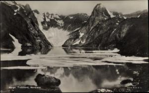 Ak Norwegen, Troldvand, Nordland, Gletscher