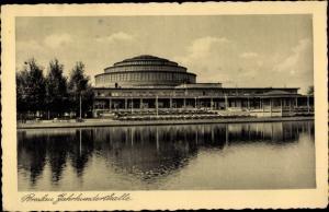 Ak Wrocław Breslau Schlesien, Jahrhunderthalle