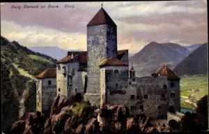 Ak Bozen Bolzano Südtirol, Burg Karneid