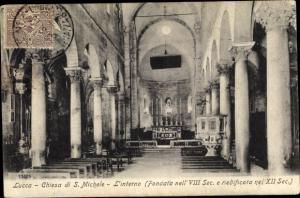 Ak Lucca Toscana, Chiesa di S. Michele, L'interno