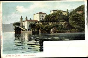 Ak Lenno Lago di Como Lombardia, Punta Balbianello
