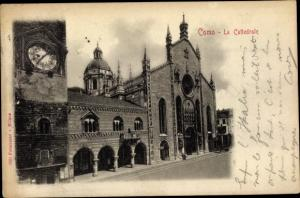 Ak Como Lombardia, Dom zu Como, Kathedrale