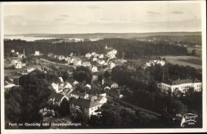 Ak Gamleby Schweden, Fran Garpedansberget, Panorama